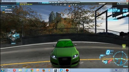 Nfs world-audi Rs4 vs Lotus Exige cup 2015
