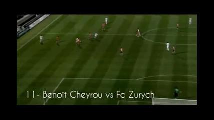 Шампионска Лига 2010 - Топ 15 Гола * Високо Качество *