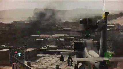 Ace Combat Assault Horizon - Ps3 _ X360 - Gameplay Fly-through_ Helicopter Assault - Mission 3