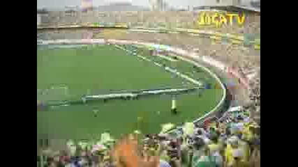 Бразилия Преди Мач Във Съблекалнята