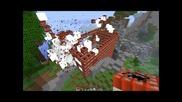 Minecraft 500 Tnt explosion