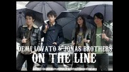 Demi Lovato and Jonas Brothers - On The Line[album Version Hq].f