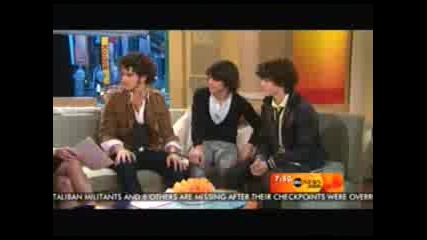 Jonas Brothers - Good Morning America Intervew