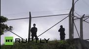 Сблъсъци на протестиращи против американската база в Япония с полицията