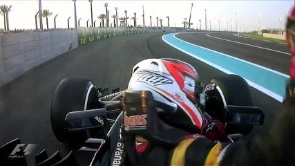 Най - доброто от Гран При на Абу Даби Формула 1 Сезон 2013