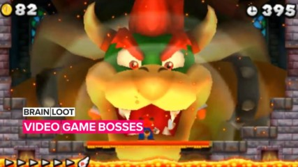 Lock and load your knowledge about video game bosses with these 5 facts