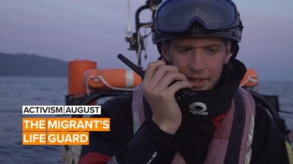 Activism August: Finn's ocean rescue is saving migrant lives