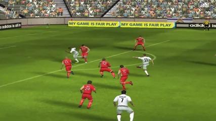 Гол с ръка на Neymar на Fifa Online 2
