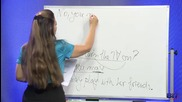 Аз уча английски език . Сезон 2, епизод 60 , урок 38 на български