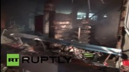 Turkey: Over 20 injured as explosion and blaze rips through Mardin building