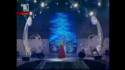 Поли Генова - One Lifetime Is Not Enough (финал Евровизия)