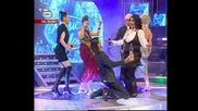 Идолите пеят Пролет пукна на Горан Брегович и люскат ракия:)) - music idol 19.08.05 GQ