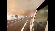 Огнено Торнадо заснето в Хавай