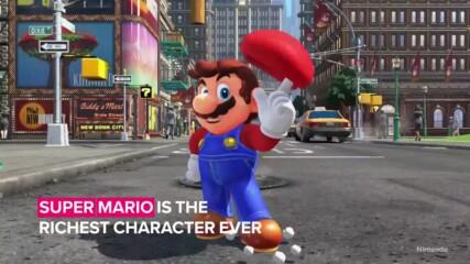 Знаеше ли, че Супер Марио е най-богатият гейминг герой?