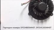 вентилатор за Asus G50, M50, N50, X55 от Screen.bg