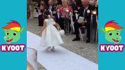 Смешни момичета с цветя | Смешни сватби
