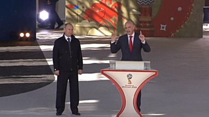 Инфантино подкрепи Русия за Рио и Мондиал 2016