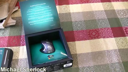 Logitech Solar Keyboard and Mouse Mx Unboxing
