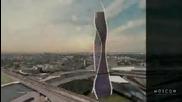 Движештите се небостъргачи в Дубай и Москва