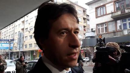 Корман Исмаилов преди извънредния изпълнителен съвет на РБ