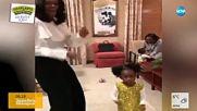 Малко момиченце онемя, след като Мишел Обама сбъдна мечтите й