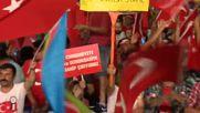 Хиляди протестираха в Истанбул