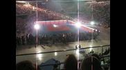 Откирването на Арена Армеец - Фен кадри и Видео