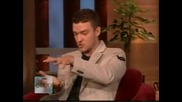 Justin Timberlake On The Ellen Show Part 1