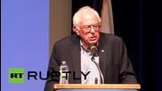 USA: Bernie Sanders woos voters in Iowa