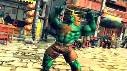 Street Fighter Iv 2008 Amusement Expo English Trailer