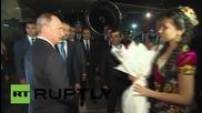 Tajikistan: Putin touches down in Dushanbe ahead of CSTO session