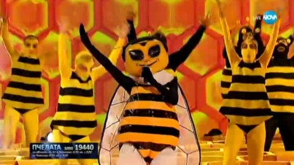 Пчелата изпълнява Think на Aretha Franklin | Маскираният певец