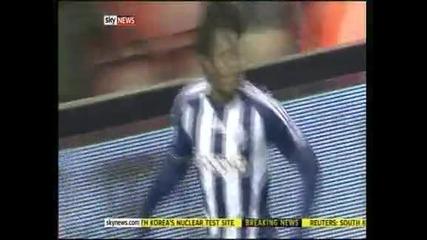 """""""Ливърпул"""" падна с 0:2 от """"Уест Бромич"""""""