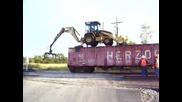 Unloading a Herzog Cartopper