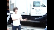 Camp rock Nick Jonas & Jman (jordan Francis) - handshake