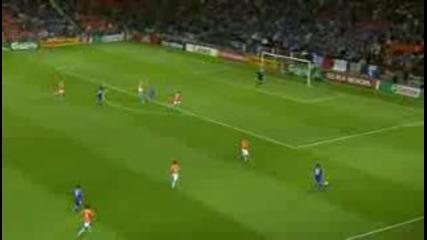 Евро 2008 - Холандия - Франция Голове 4 - 1