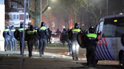Netherlands: Chaos on Rotterdam streeets as riots over curfew rage for third night