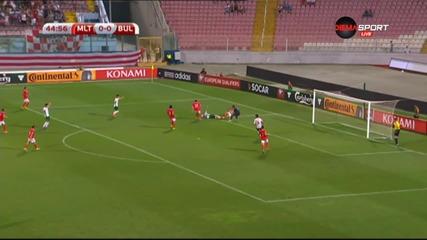 ВИДЕО: Малта - България 0:1