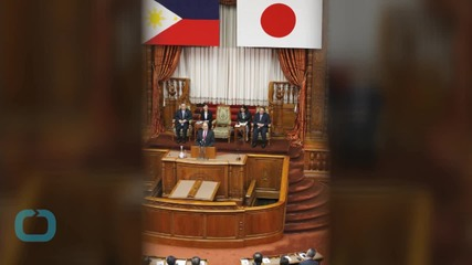 Japan PM, Philippine President Discuss Concerns About South China Sea