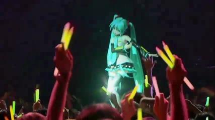 Холограмено момиче Hatsune Miku - World is Mine