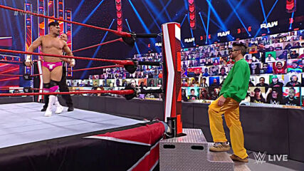Damian Priest vs. Angel Garza: Raw, Feb. 22, 2021
