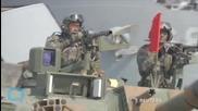 Seoul: North Korea Fires 4 Short-range Projectiles Into Sea Amid S. Korea-US Military Drills