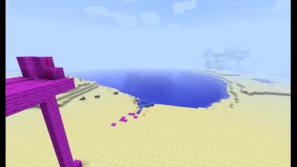 Minecraft Тнт истрелвачка :)