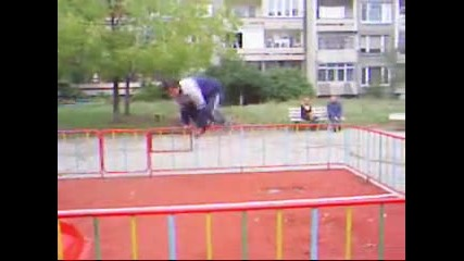 Parkour in 2005 year