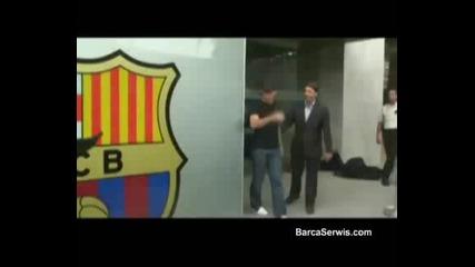 Максуел е първото попълнение на Барселона