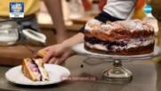 """Торта """"Карпатка"""" с боровинки - Бон апети (23.02.2018)"""