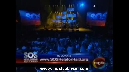 Justin Bieber - Medley (feat. Ludacris)...sos Save Our Selves Help For Haiti