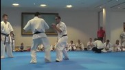 Valeri Dimitrov- Grading Test ( 4th dan ) Kumite ( 17.04.2013 )