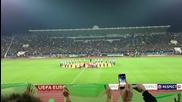 Крисия на мача Лудогорец - Валенсия - Атмосфера на стадиона