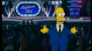 Homer Simpson on American Idol